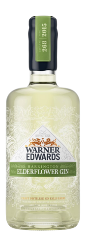 Elderflower Infused Gin, Warner Edwards, Northamptonshire, UK