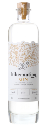 Hibernation Gin, Dyfi Distillery, Wales (aged in White Port Cask)