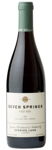 Pinot Noir Seven Springs 2016 – Evening Land