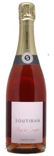 Champagne Soutiran – Rosé de Saignée Brut – (BIN END OFFER)