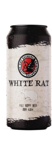 12 x 440ml White Rat – Ossett Brewery