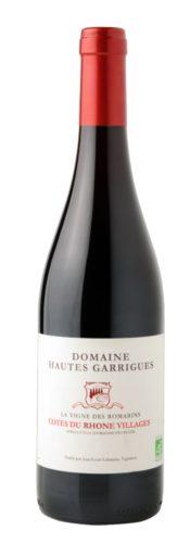 Côtes Du Rhône 2016 – Domaine Hautes Garrigues