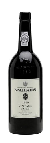 Warre's Vintage Port 1980 OUT OF STOCK