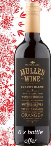 Mulled Wine, Maple Falls – Luxury Blend 6 bottle OFFER