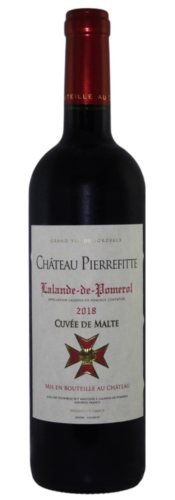 Chateau Pierrefitte Curvee De Malte Lalande-de-Pomerol 2018