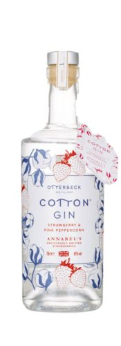 Otterbeck Distillery, Cotton Gin, Strawberry and Pink Peppercorn